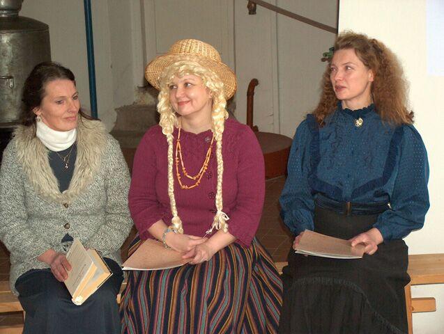 Kolme muuseumi kokkutulek Imaveres 20.11.2007