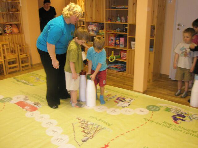 Hiiumaal põrandamäng Piima teekond 23.10-24.10.2008