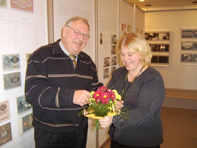 Rahanäituse avamine 10.01.2007