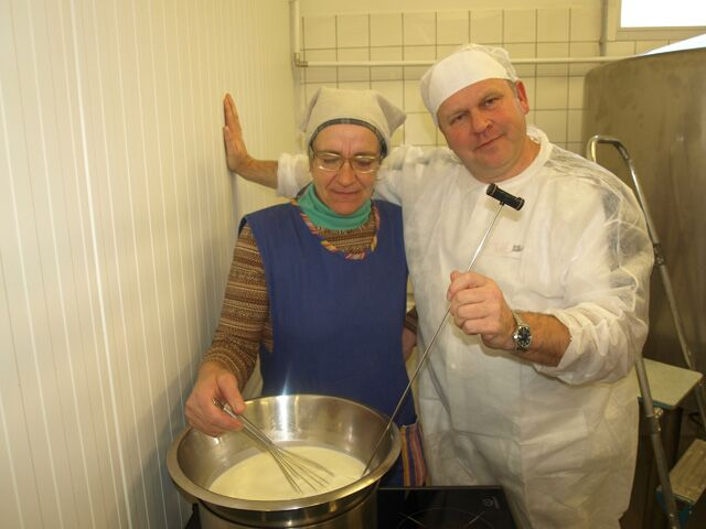 Olustveres piimatoodete koolitusel 05.-09.11.2012